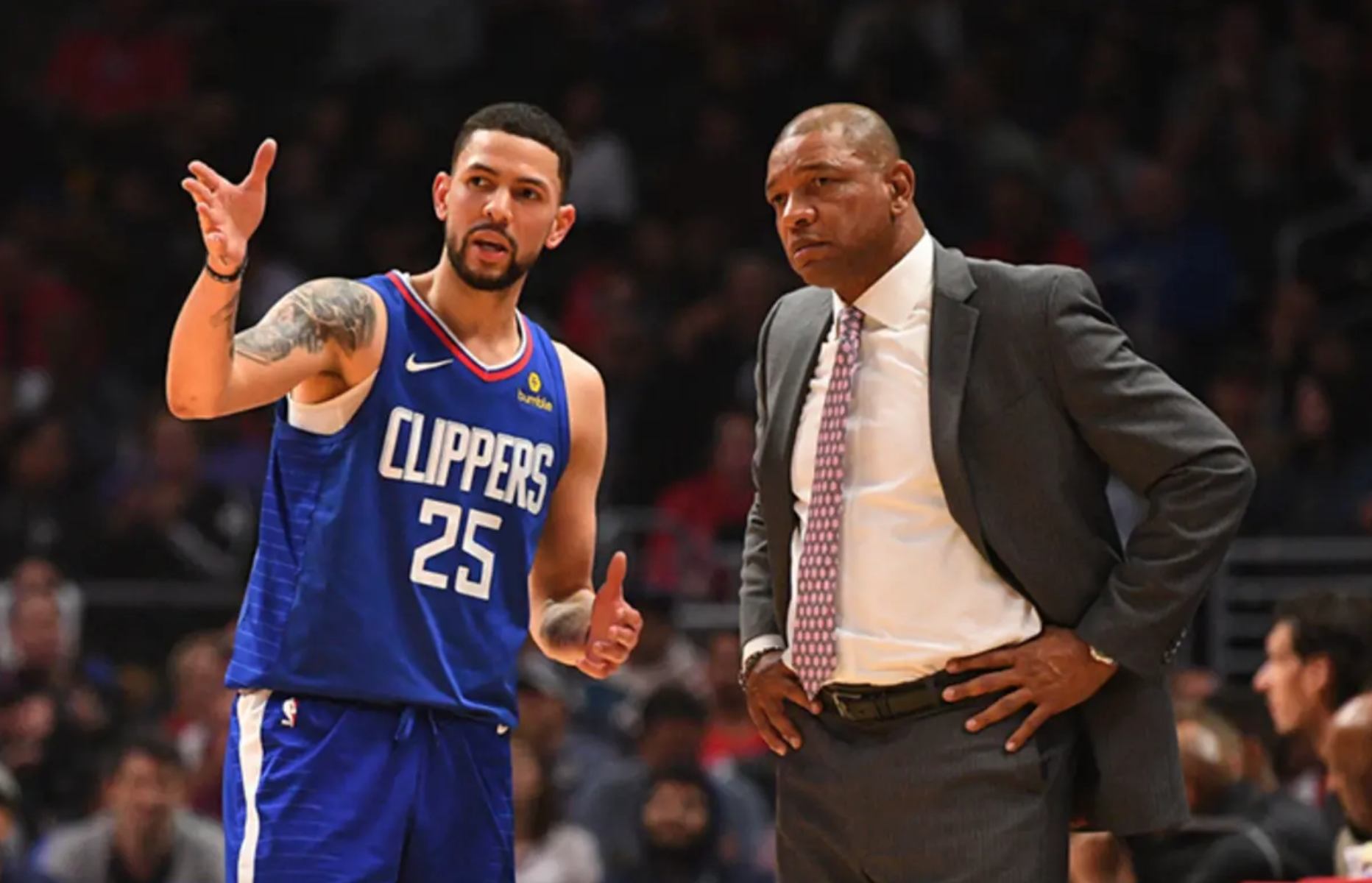 Here S Why Doc Rivers Encouraged Son Austin Rivers To Join The Knicks Knicks Fan Tv